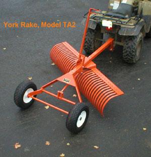 York Modern Implements Atv Rakes