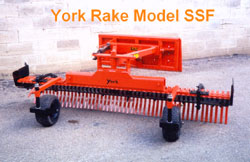 york rakes one of the earliest skid steer attachments built with