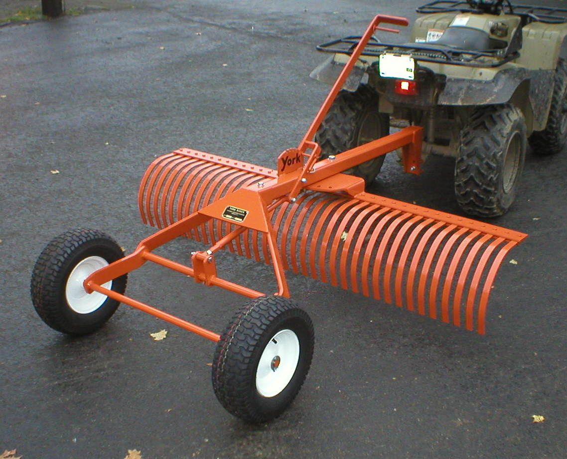Craftsman Lawn Tractor Grader : York rakes are great mytractorforum the